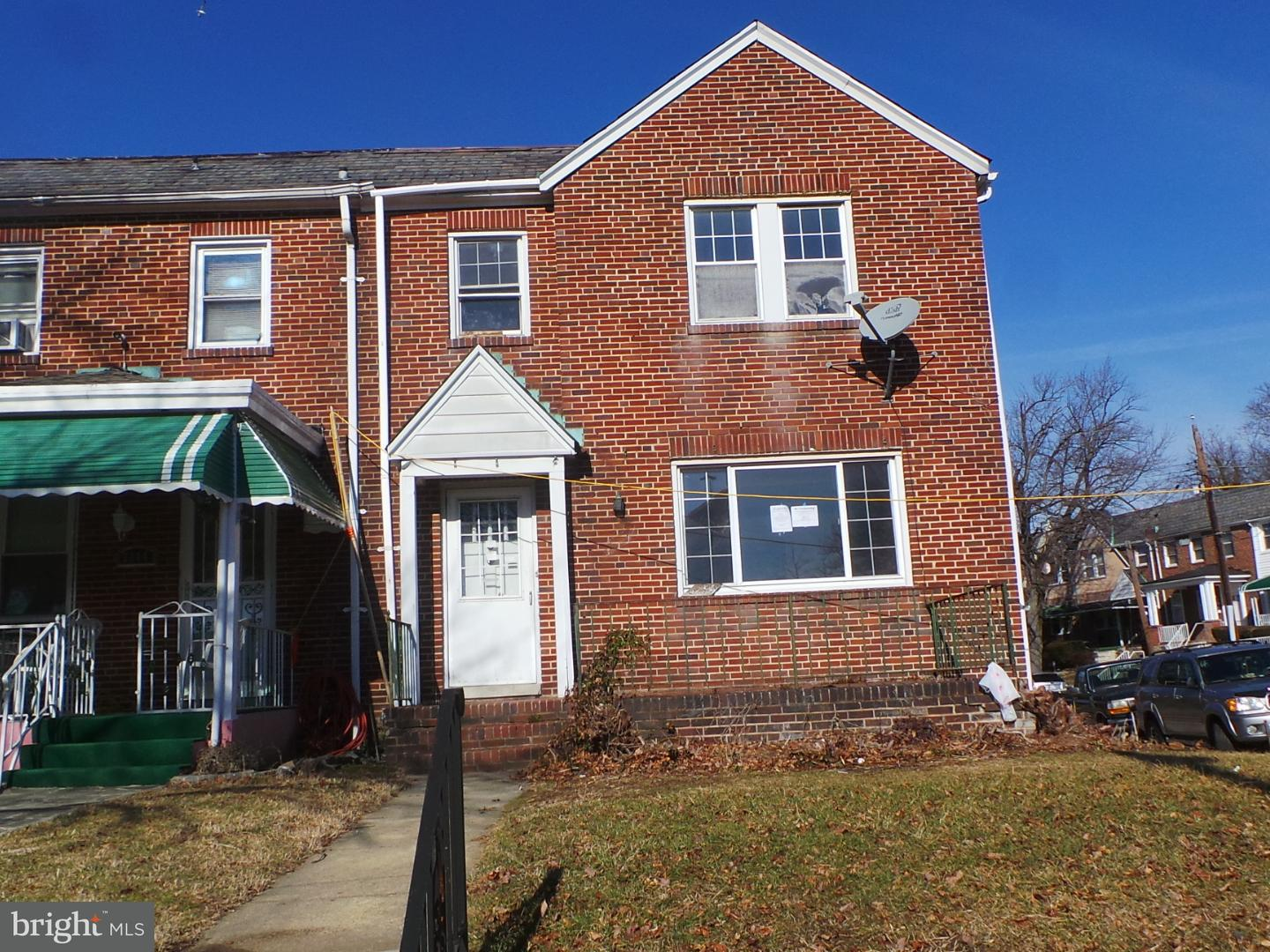 Single Family for Sale at 3246 Tioga Pkwy Baltimore, Maryland 21215 United States