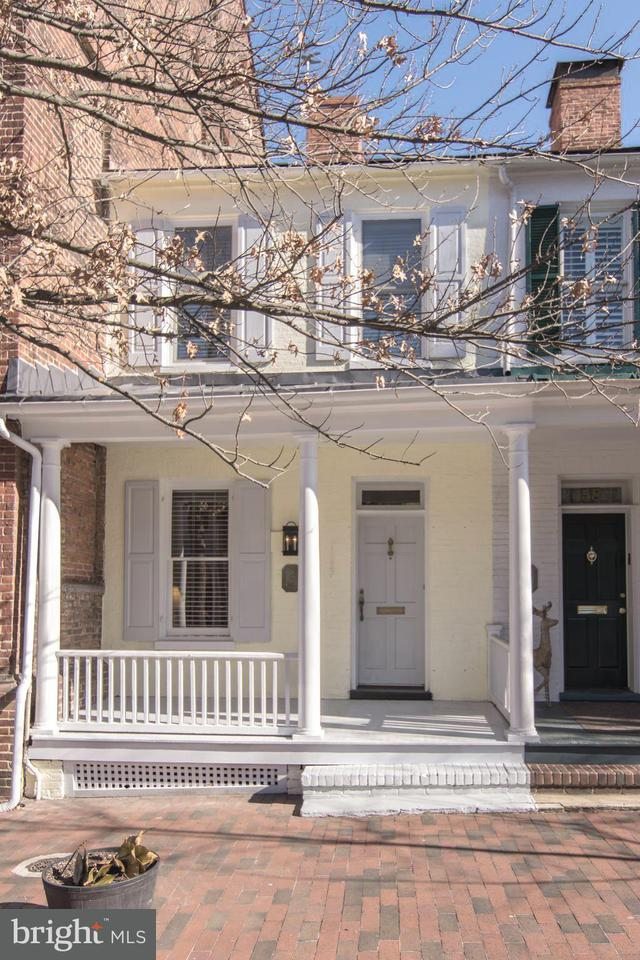 Townhouse for Sale at 160 Conduit Street 160 Conduit Street Annapolis, Maryland 21401 United States
