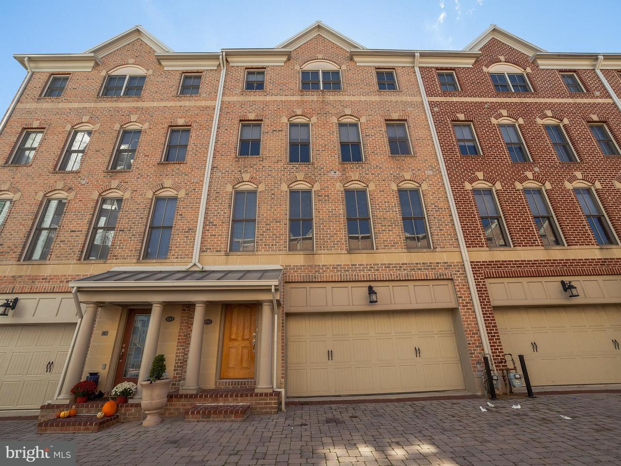 타운하우스 용 매매 에 1261 Dockside Circle 1261 Dockside Circle Baltimore, 메릴랜드 21224 미국