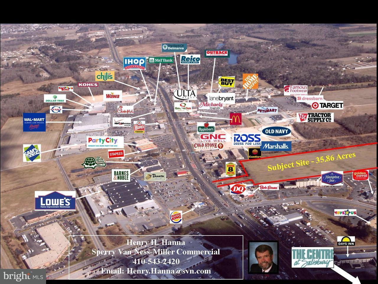 土地 為 出售 在 U S 13 Hwy N U S 13 Hwy N Salisbury, 馬里蘭州 21801 美國