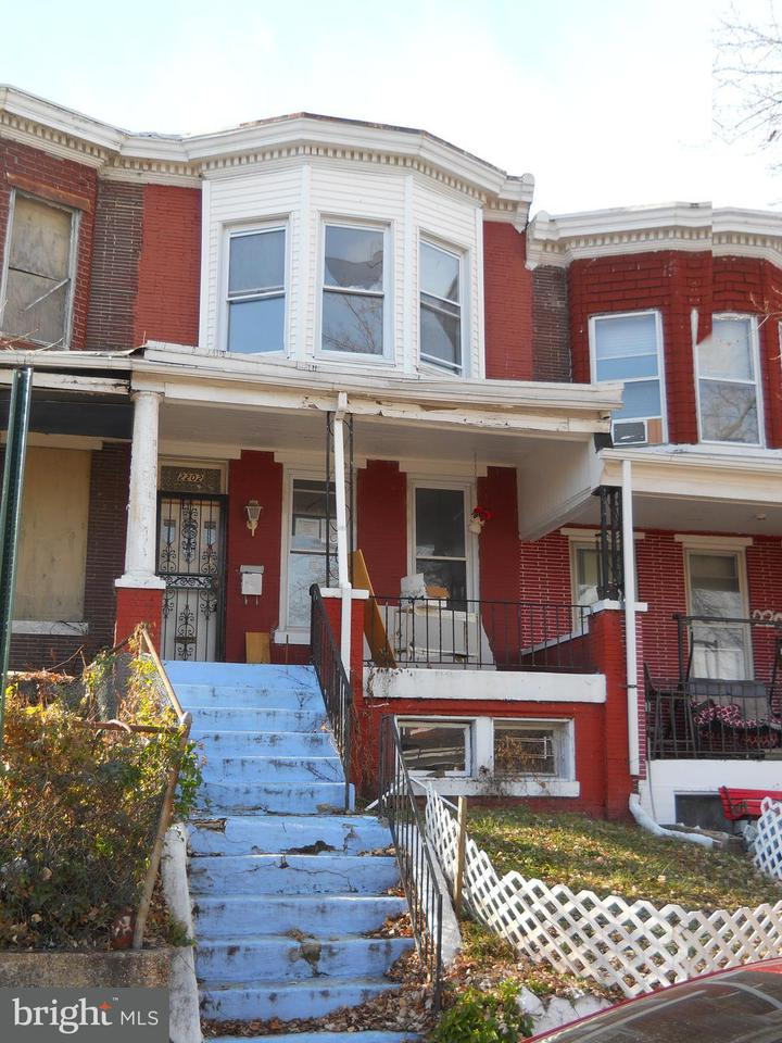 Single Family for Sale at 2202 Poplar Grove St Baltimore, Maryland 21216 United States