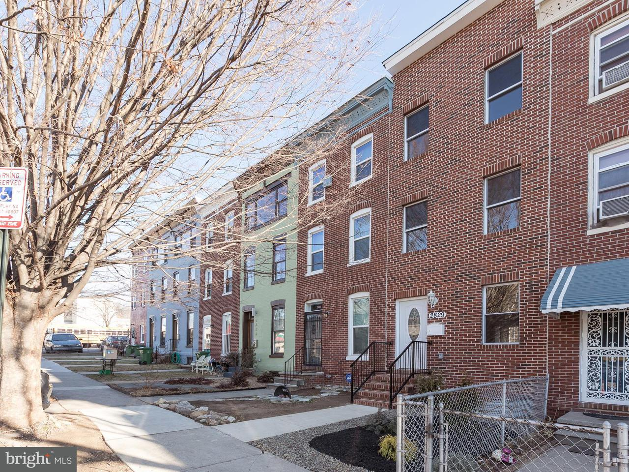 Single Family for Sale at 2829 Remington Ave Baltimore, Maryland 21211 United States