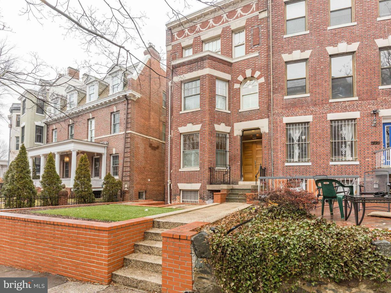 Townhouse for Sale at 1953 Biltmore St Nw 1953 Biltmore St Nw Washington, District Of Columbia 20009 United States