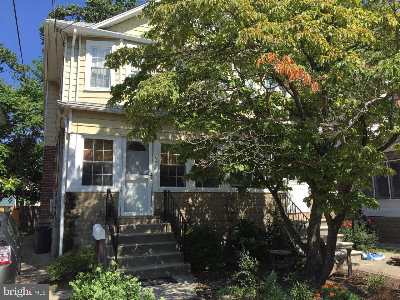 Single Family Home for Rent at 167 LAWNSIDE Avenue Collingswood, New Jersey 08108 United States