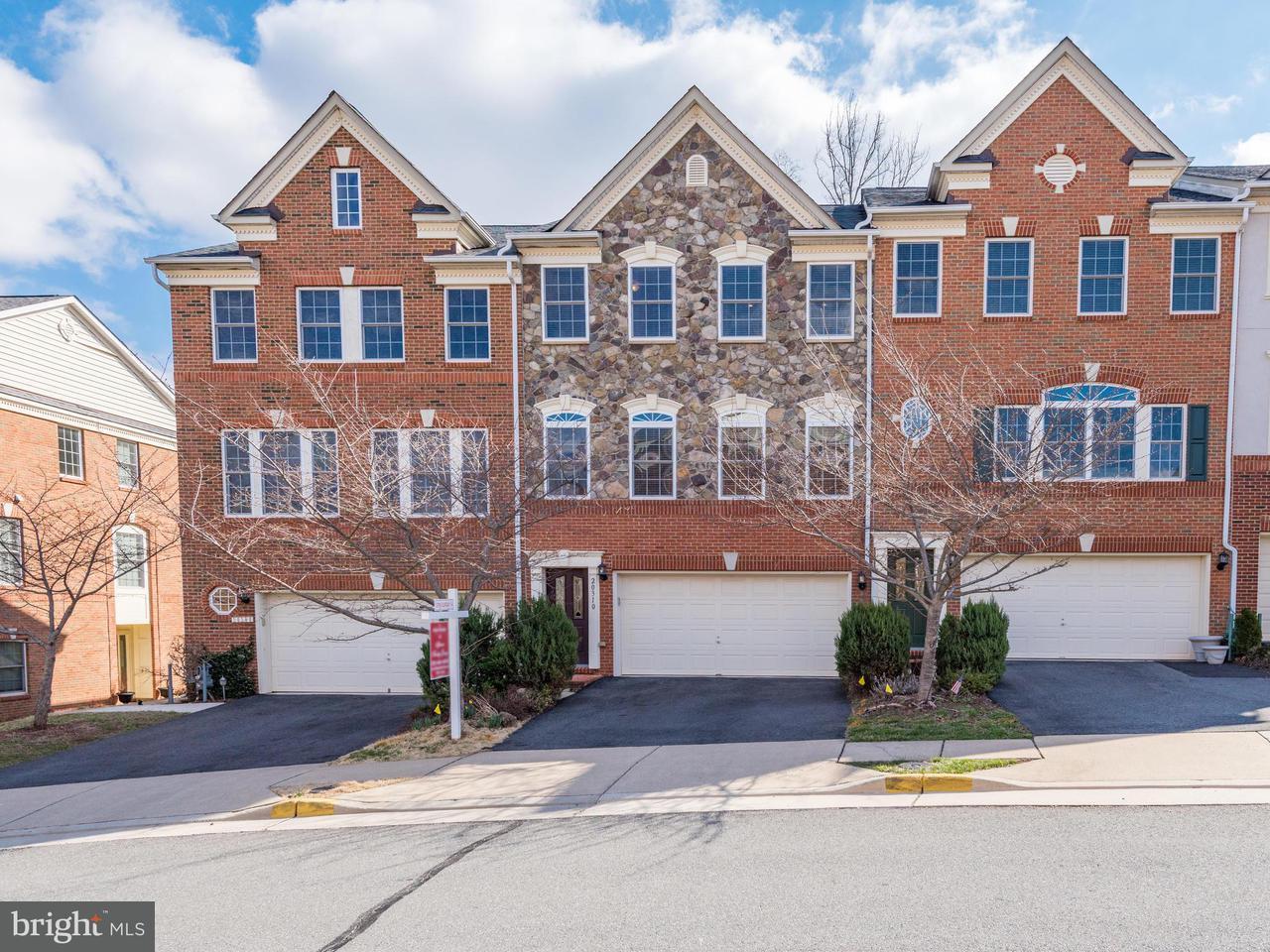 タウンハウス のために 売買 アット 20310 Center Brook Sq 20310 Center Brook Sq Sterling, バージニア 20165 アメリカ合衆国