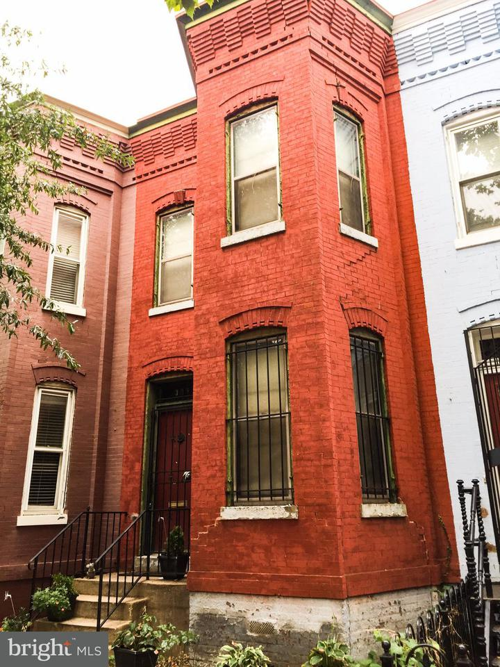 Single Family for Sale at 1229 W St NW Washington, District Of Columbia 20009 United States