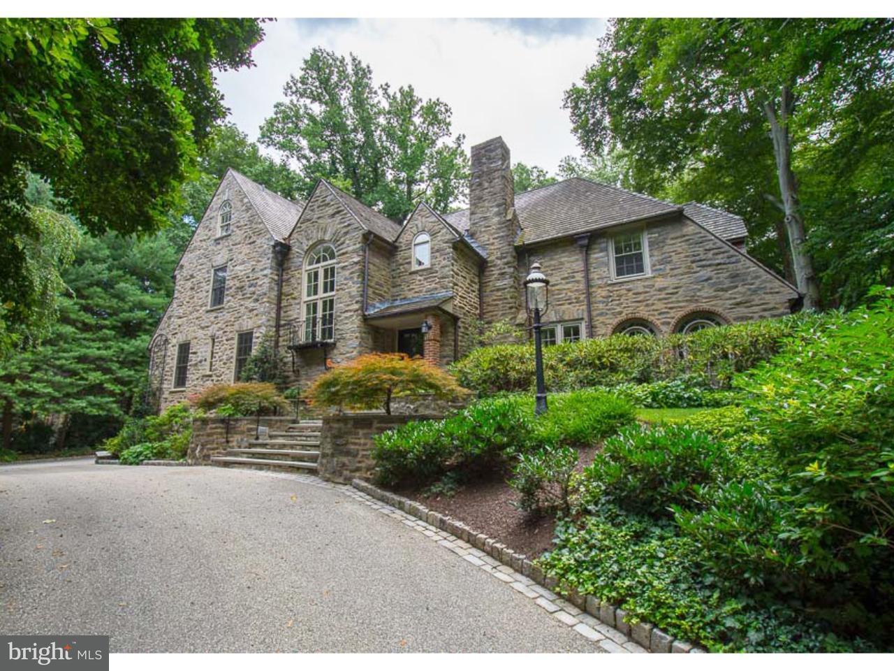 Частный односемейный дом для того Продажа на 334 LAUREL Lane Haverford, Пенсильвания 19041 Соединенные Штаты