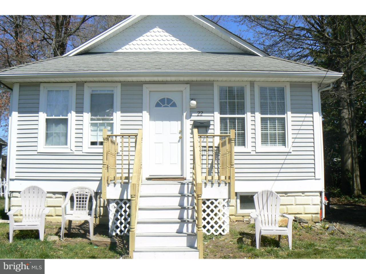 Casa Unifamiliar por un Alquiler en 22 S HILLTOP Avenue Somerdale, Nueva Jersey 08083 Estados Unidos