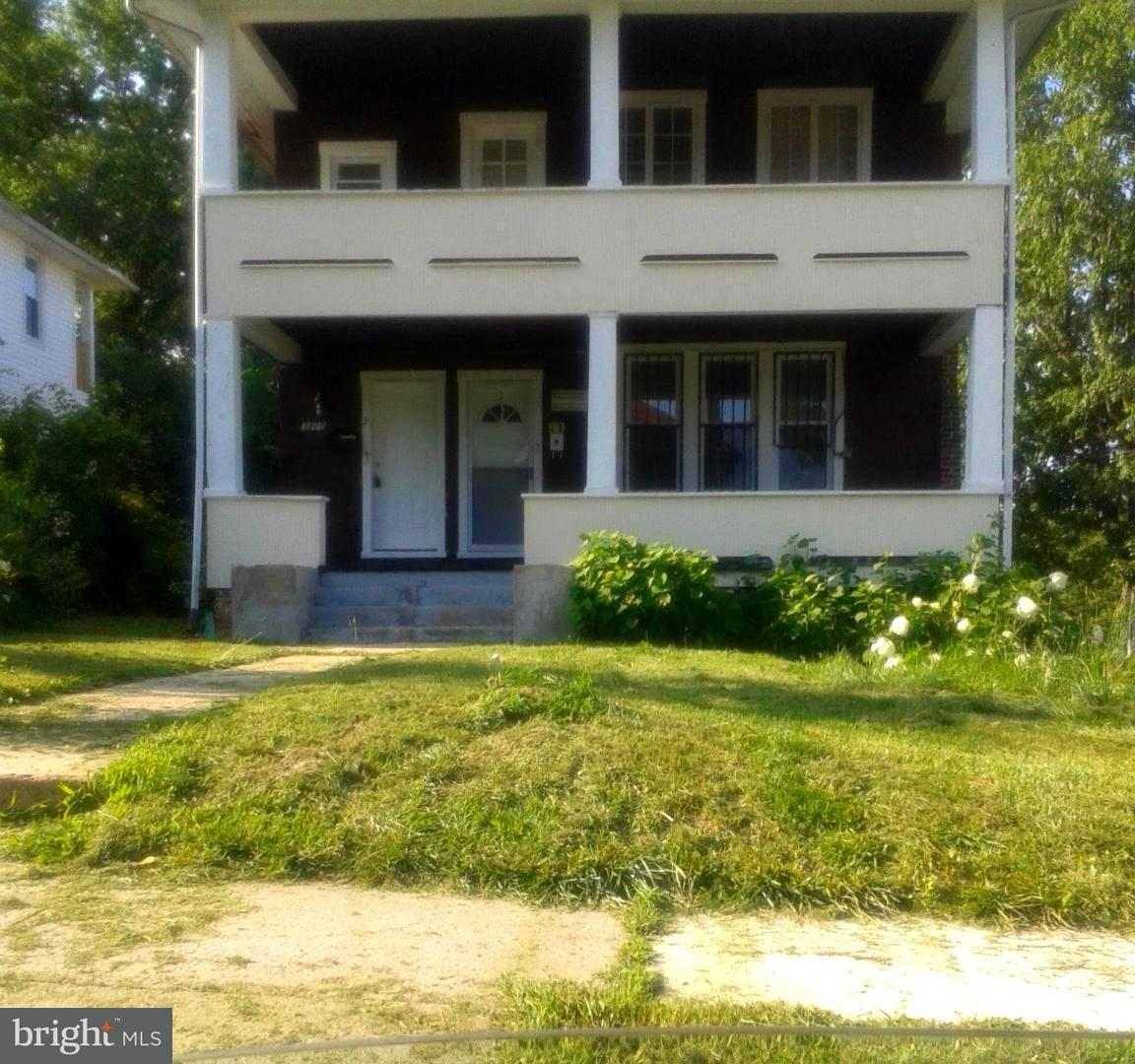 Single Family for Sale at 3200 Elgin Ave Baltimore, Maryland 21216 United States