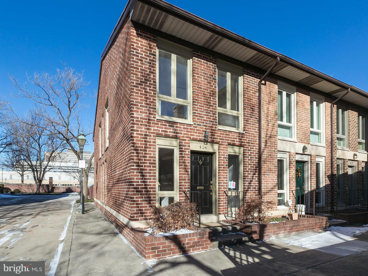 Single Family for Sale at 424 Hanover St Baltimore, Maryland 21201 United States