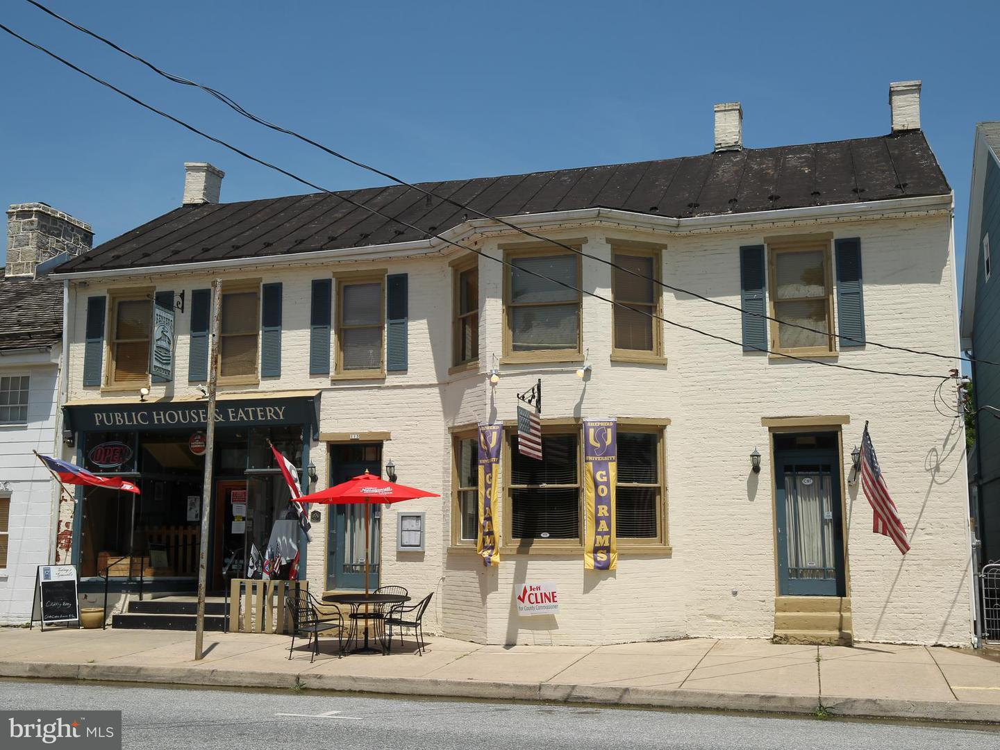Commercial for Sale at 111 Main St Sharpsburg, Maryland 21782 United States