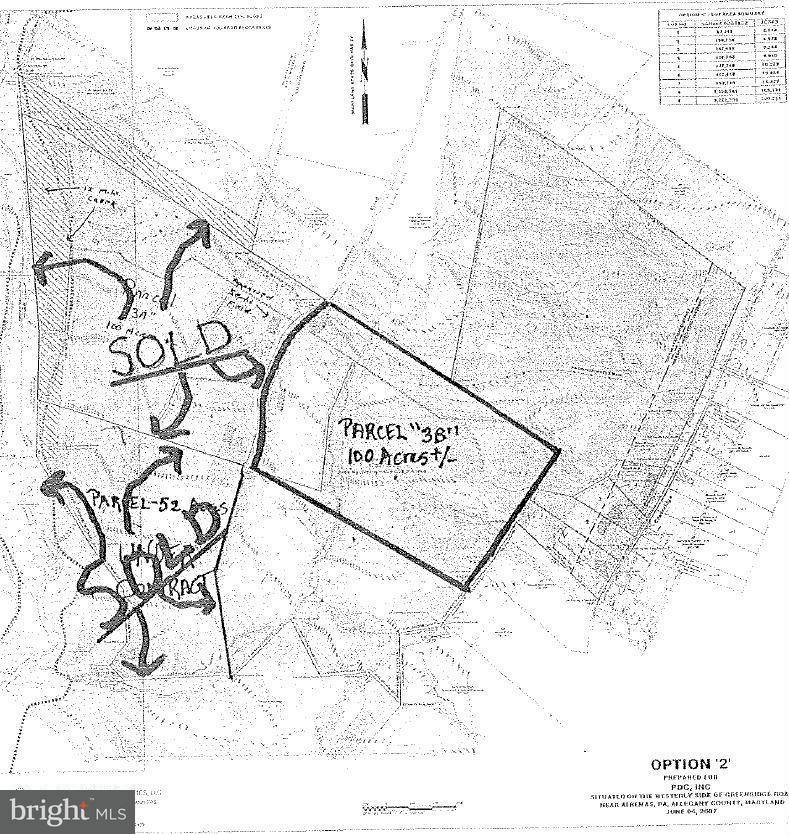 Land for Sale at Crossover Rd Flintstone, Maryland 21530 United States