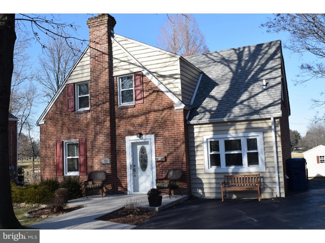 Частный односемейный дом для того Аренда на 33 MEDBURY Lane Wallingford, Пенсильвания 19086 Соединенные Штаты
