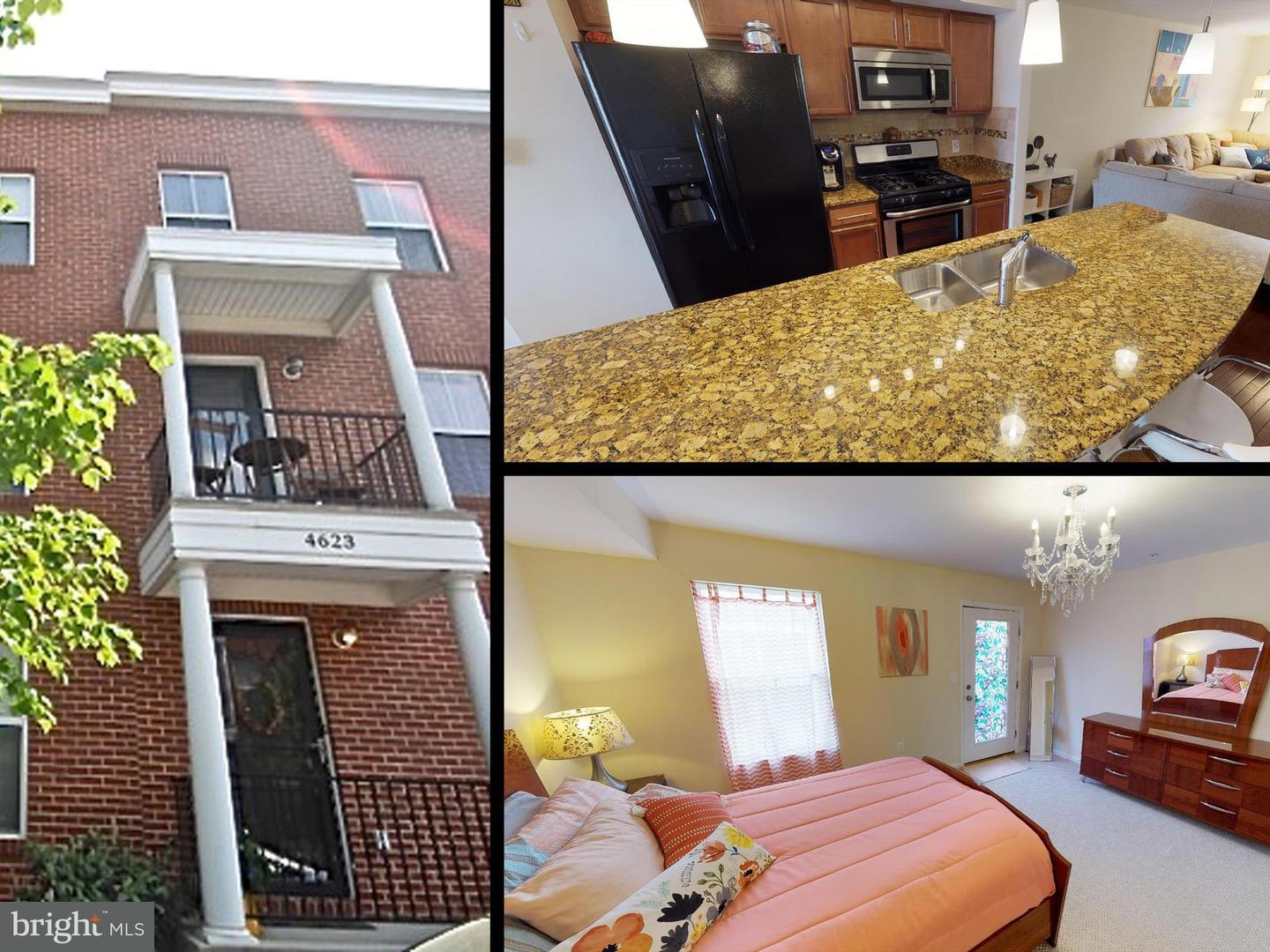 Single Family for Sale at 4623 Dillon St Baltimore, Maryland 21224 United States