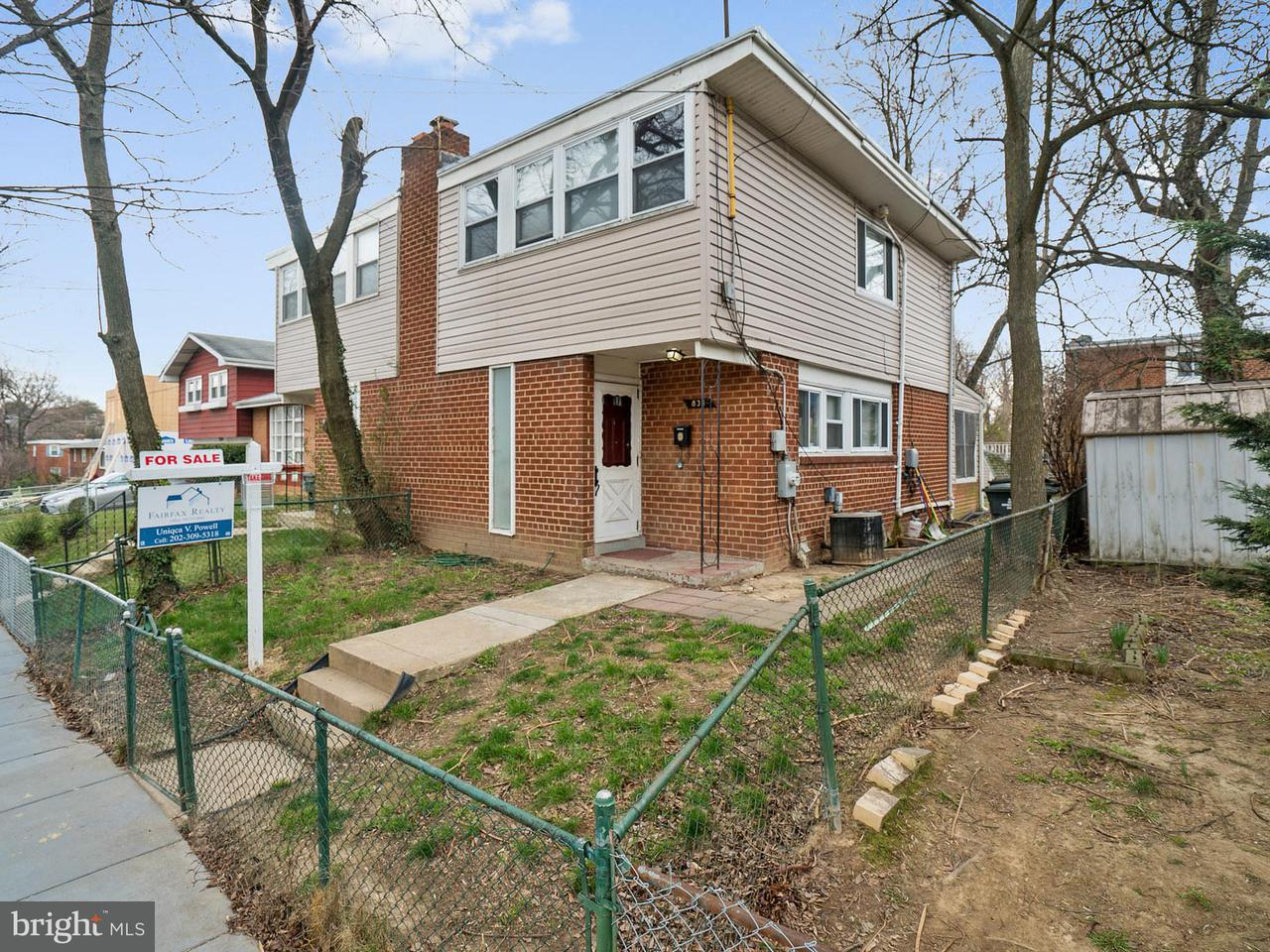 Single Family for Sale at 834 Eastern Ave NE Washington, District Of Columbia 20019 United States