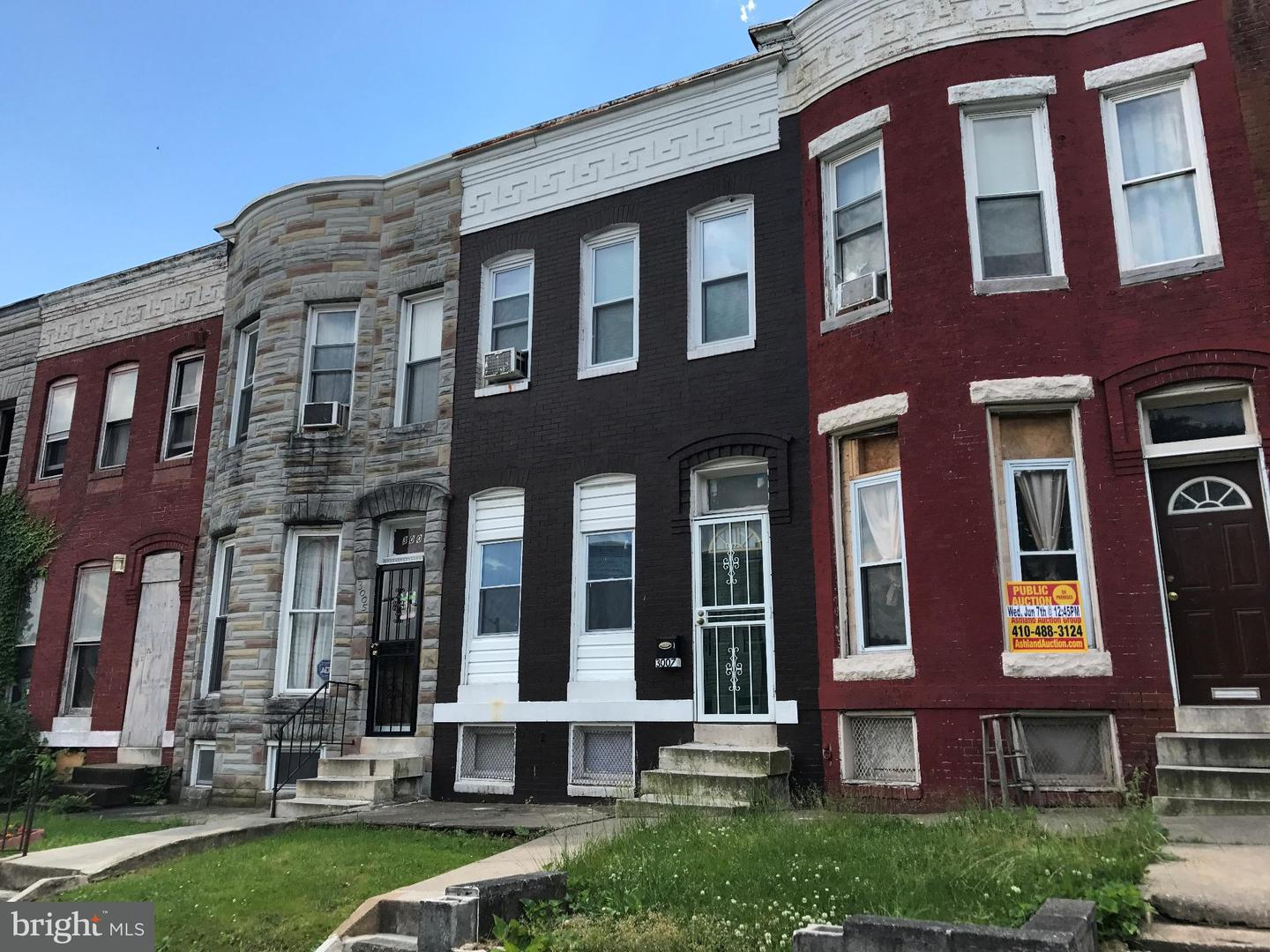 Single Family for Sale at 3009 Westwood Ave Baltimore, Maryland 21216 United States