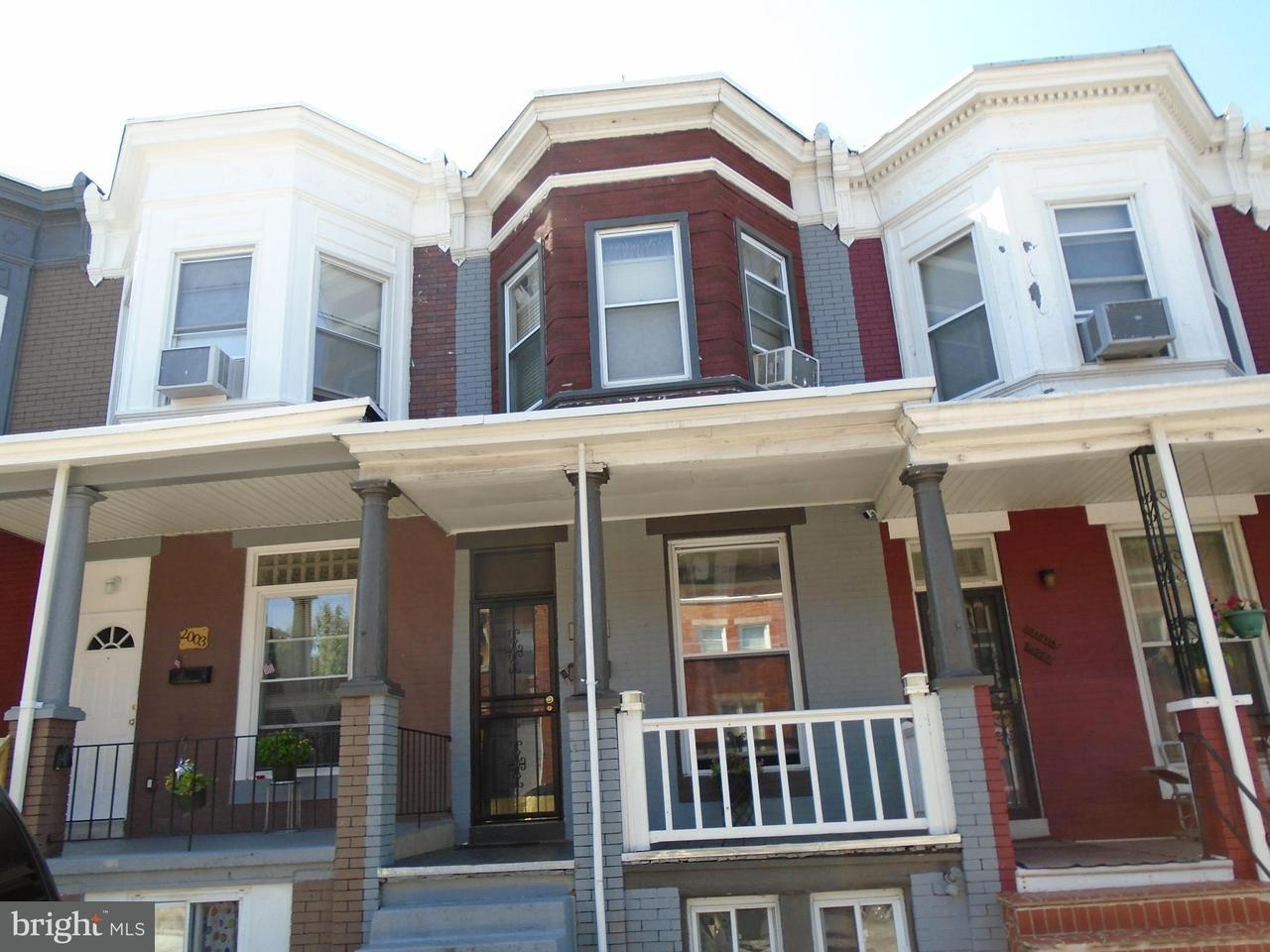 Single Family for Sale at 2005 Lexington St W Baltimore, Maryland 21223 United States