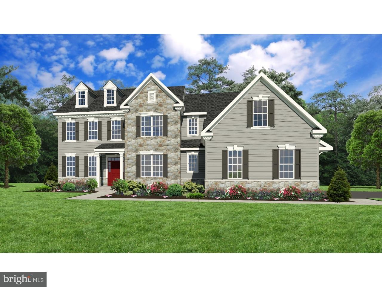 Частный односемейный дом для того Продажа на LOT #2 BENNETT Place Wrightstown, Пенсильвания 18966 Соединенные Штаты