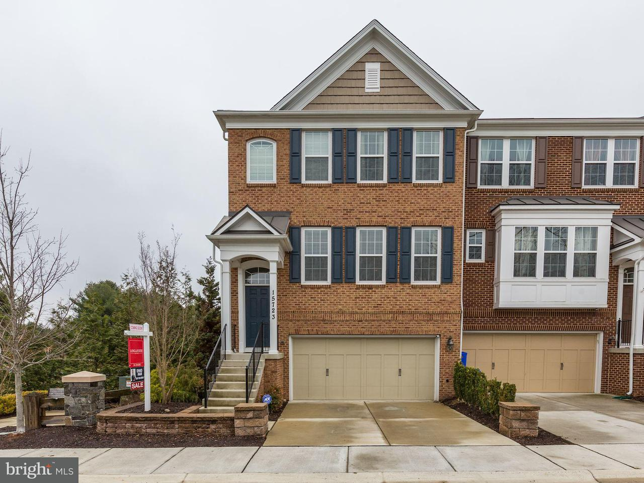 Stadthaus für Verkauf beim 15723 Quince Trace Ter 15723 Quince Trace Ter North Potomac, Maryland 20878 Vereinigte Staaten