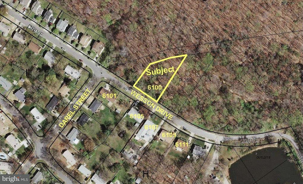 Land for Sale at 6100 Wesson Dr Suitland, Maryland 20746 United States