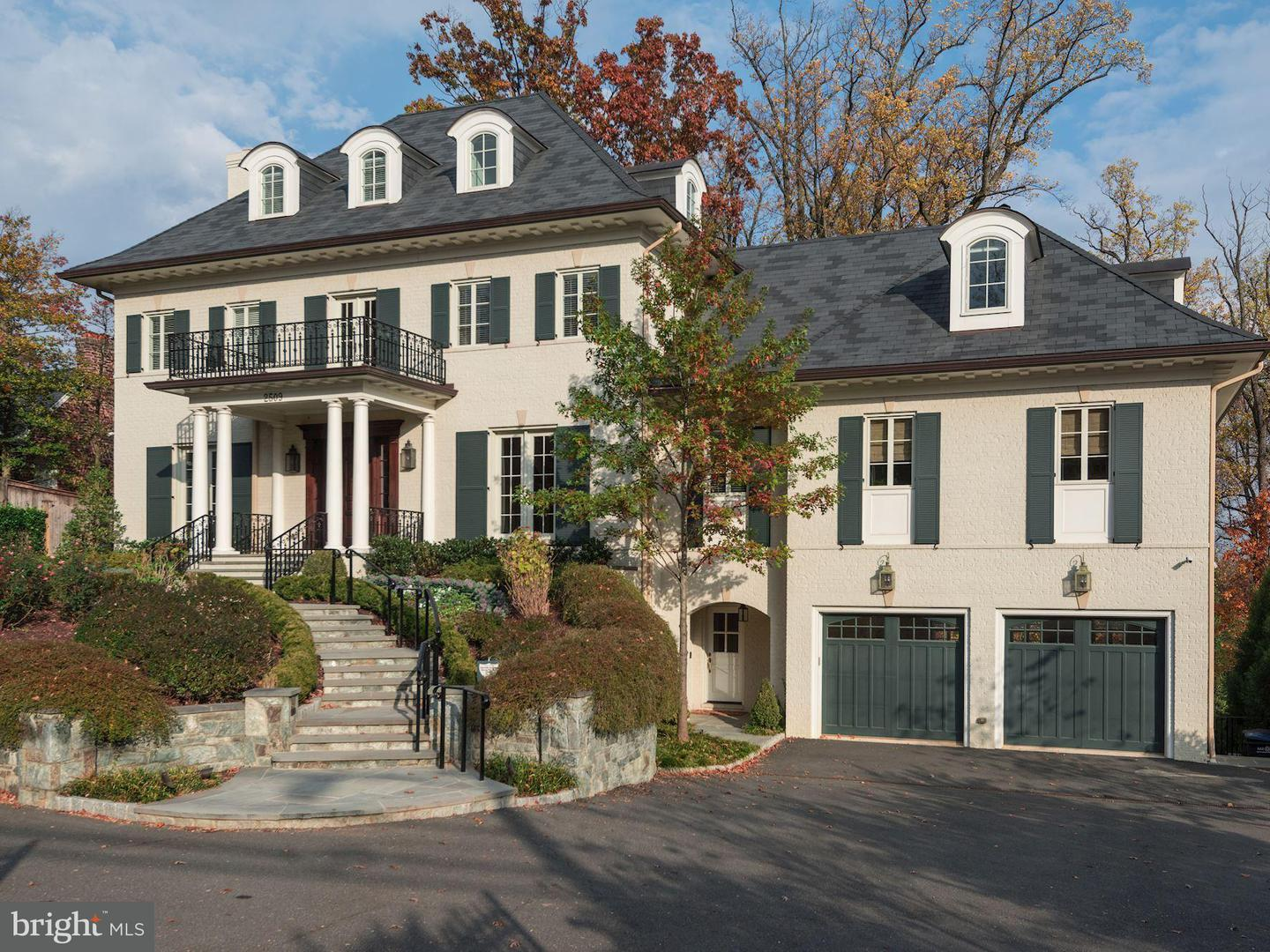 Single Family for Sale at 2509 Foxhall Rd NW Washington, District Of Columbia 20007 United States