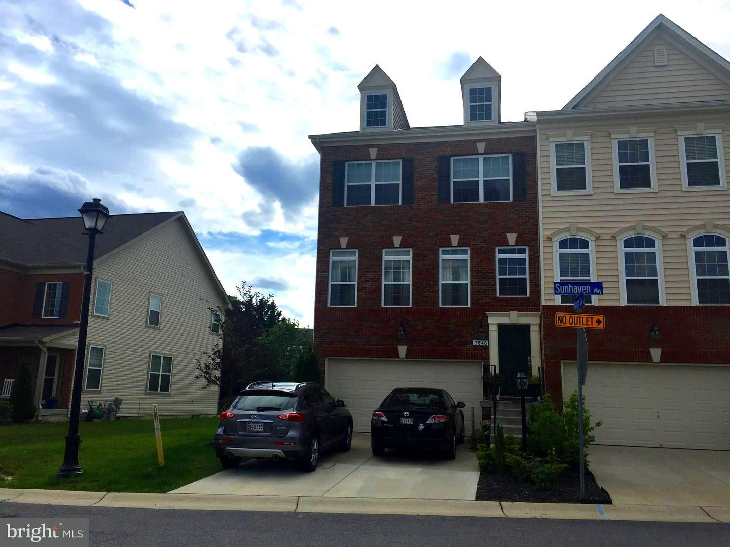 Other Residential for Rent at 7846 Sunhaven Way Severn, Maryland 21144 United States