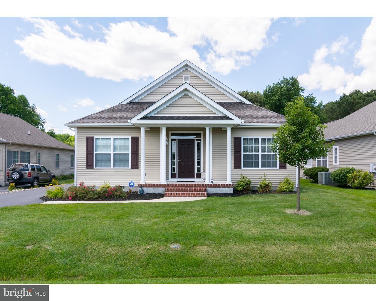 Maison unifamiliale pour l Vente à 19 LITTLE BIRCH Drive Milford, Delaware 19963 États-Unis