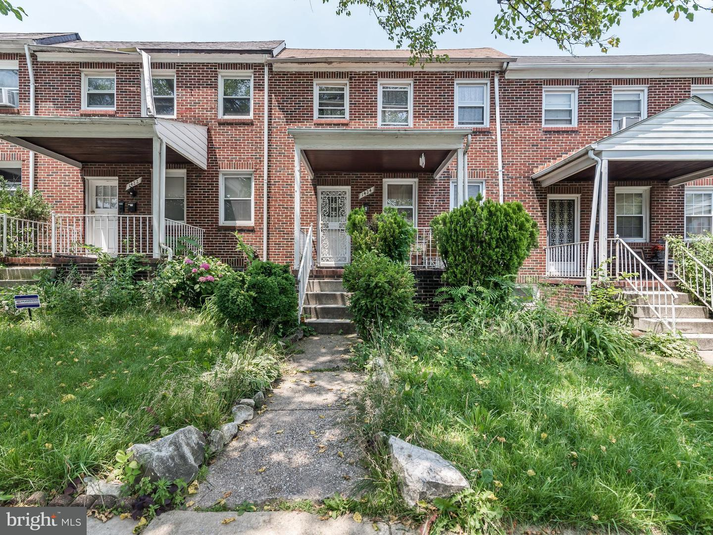 Single Family for Sale at 1424 Ellwood Ave Baltimore, Maryland 21213 United States