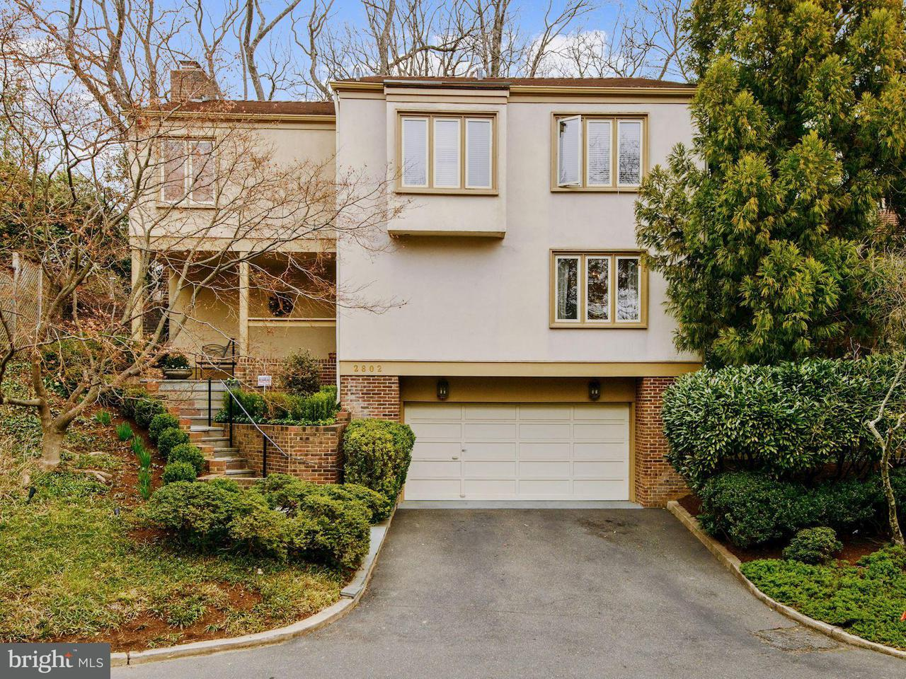 Single Family for Sale at 2802 Battery Pl NW Washington, District Of Columbia 20016 United States