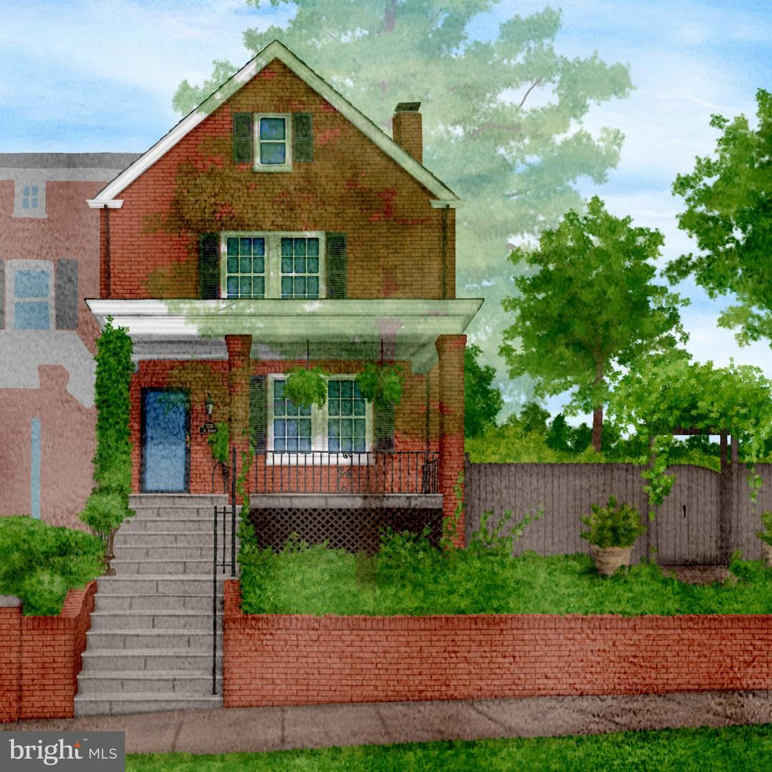 Single Family for Sale at 3731 W St NW Washington, District Of Columbia 20007 United States