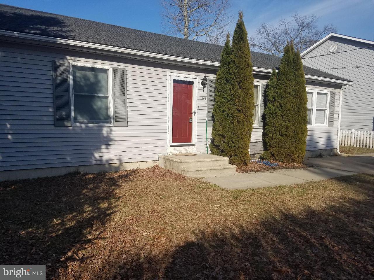 独户住宅 为 出租 在 344 DOGWOOD Street Browns Mills, 新泽西州 08015 美国