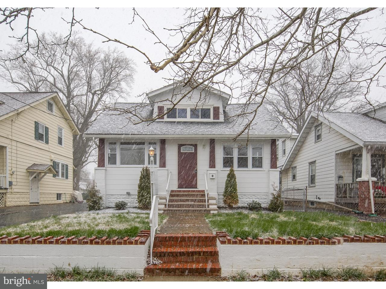 Single Family Home for Sale at 113 MANHEIM Avenue Oaklyn, New Jersey 08107 United States