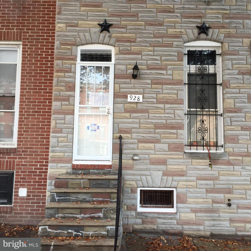 Single Family for Sale at 928 Broadway Baltimore, Maryland 21205 United States