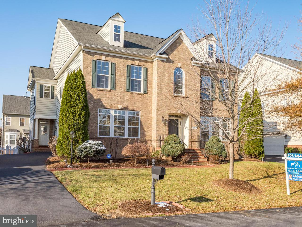 Single Family Home for Sale at 22823 Angelique Drive 22823 Angelique Drive Ashburn, Virginia 20148 United States