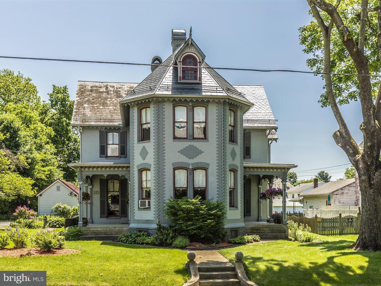 Casa Unifamiliar por un Venta en 20 W Pennsylvania Avenue 20 W Pennsylvania Avenue Walkersville, Maryland 21793 Estados Unidos