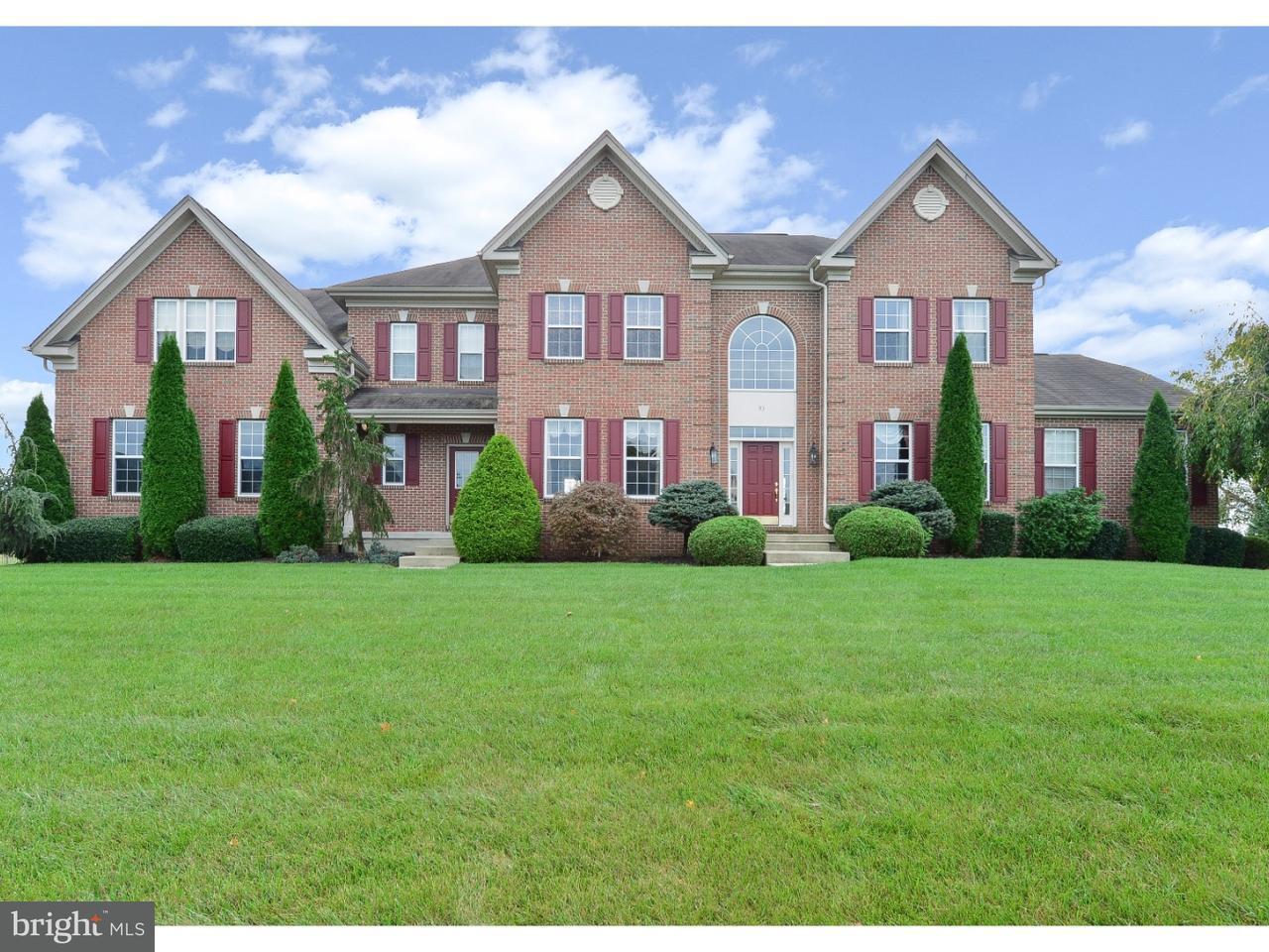 Maison unifamiliale pour l Vente à 93 BALSAM Road Lumberton, New Jersey 08048 États-Unis