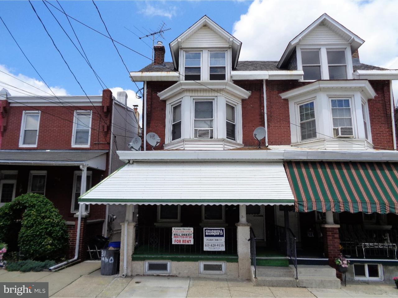 Maison accolée pour l à louer à 31 E RAMBO Street Bridgeport, Pennsylvanie 19405 États-Unis