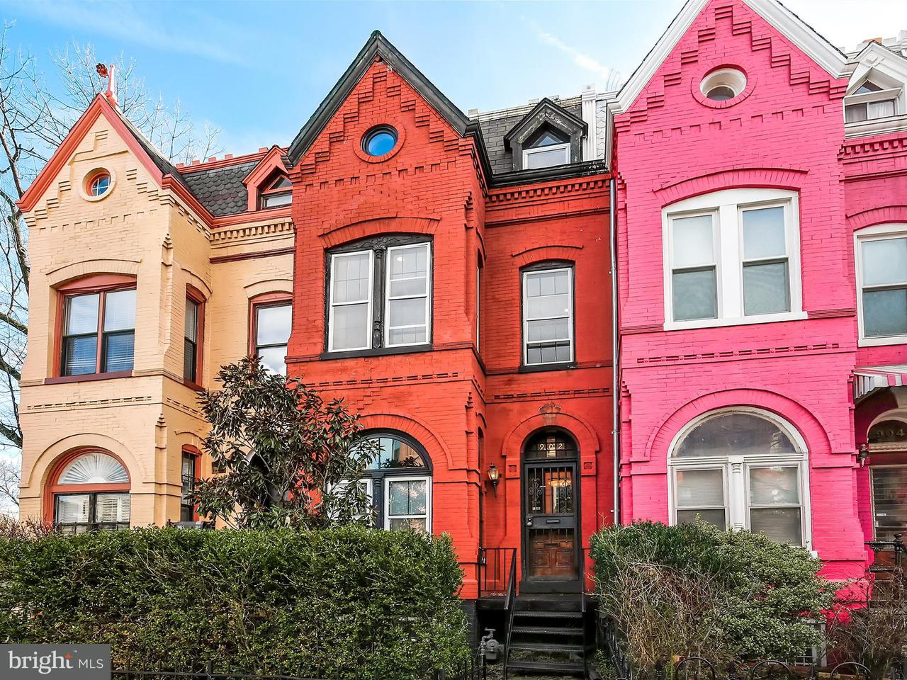 Single Family Home for Sale at 902 S St Nw 902 S St Nw Washington, District Of Columbia 20001 United States