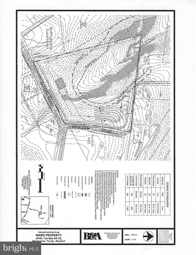 Land for Sale at 16440 Batson Rd Spencerville, Maryland 20868 United States