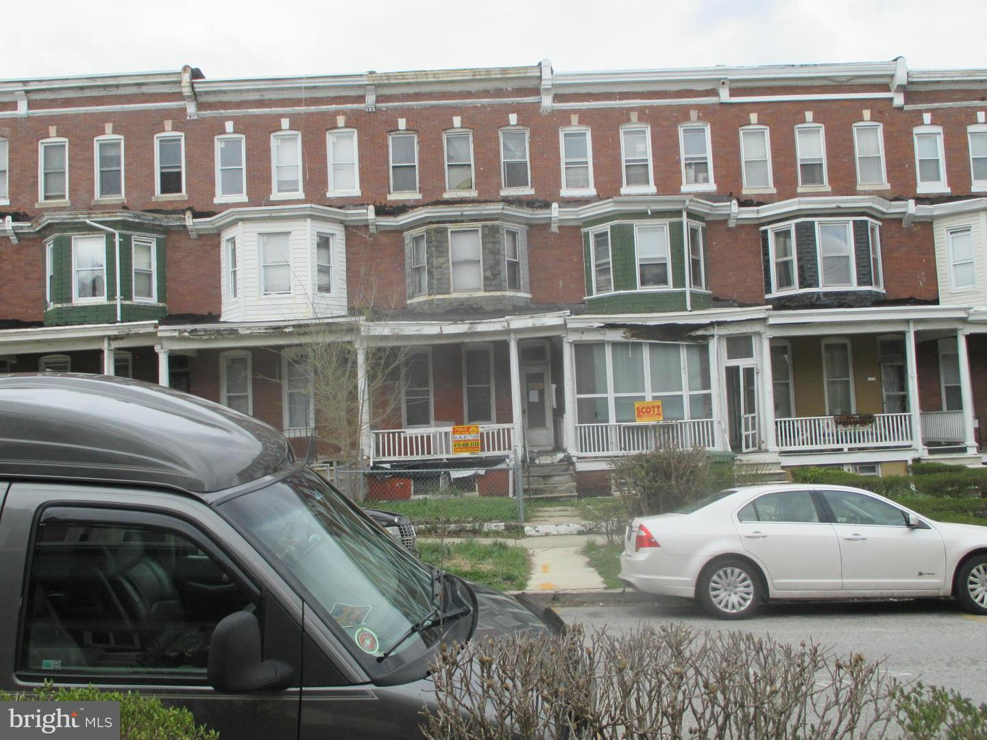 Photo of home for sale at 1816 Ashburton Street, Baltimore MD