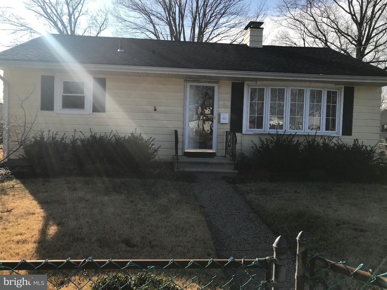 Частный односемейный дом для того Аренда на 425 WEST Avenue Delanco Township, Нью-Джерси 08075 Соединенные Штаты