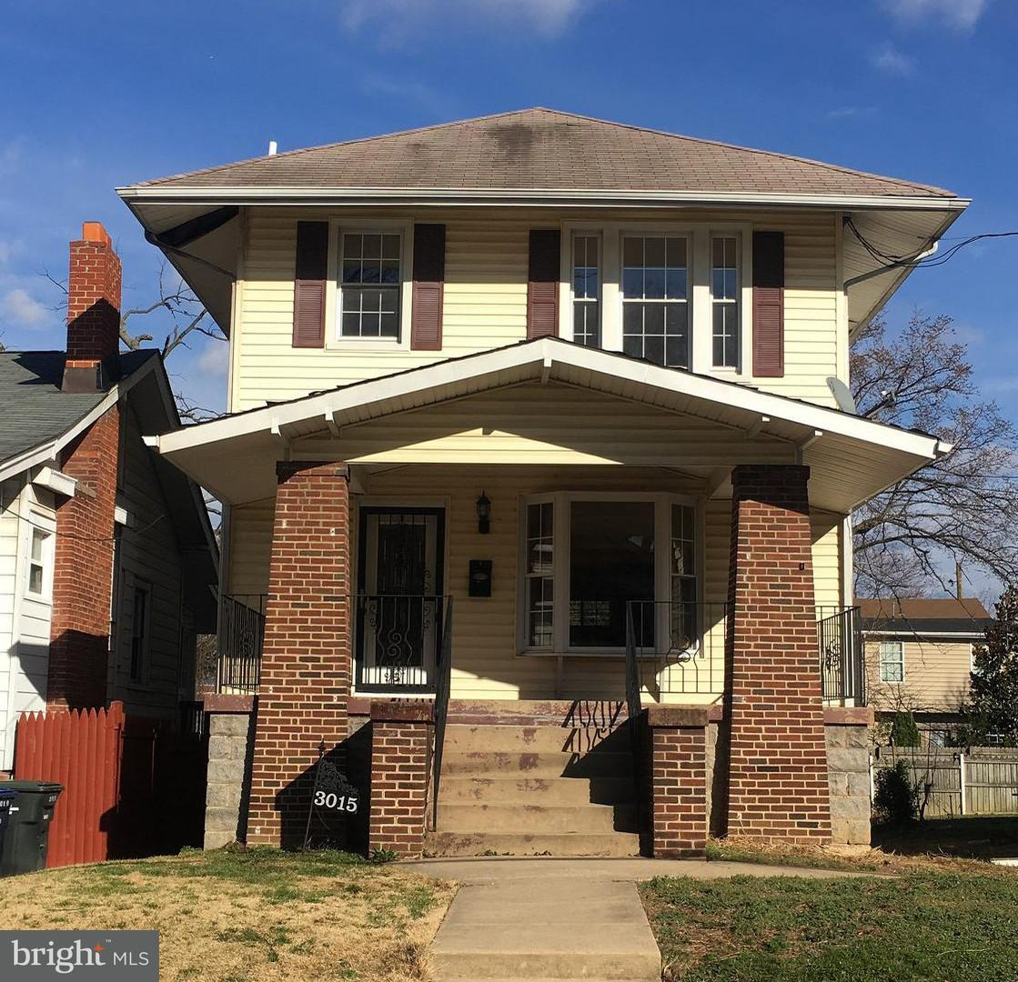 Single Family for Sale at 3015 25th St NE Washington, District Of Columbia 20018 United States