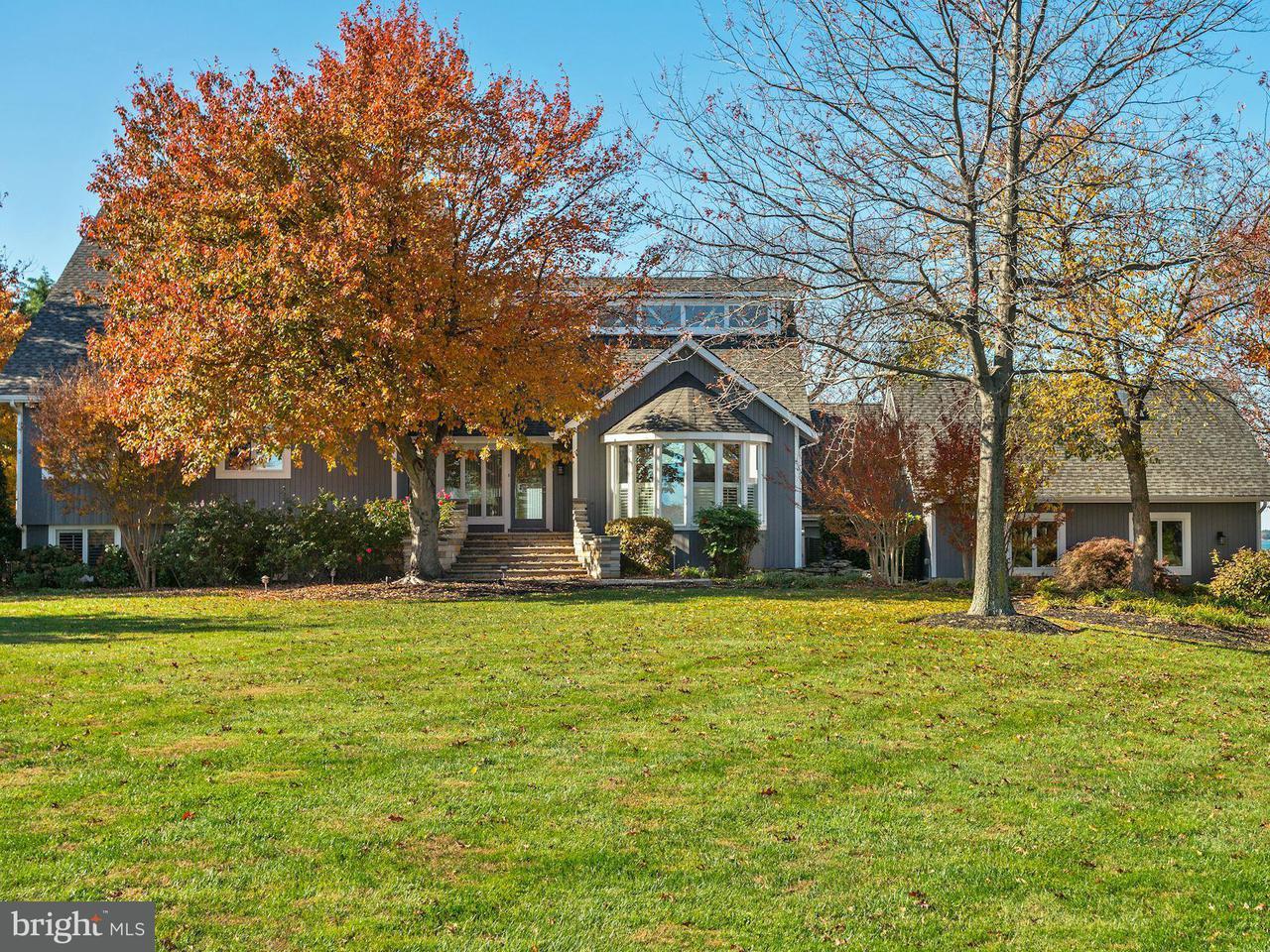 Частный односемейный дом для того Продажа на 2872 Cox Neck Road 2872 Cox Neck Road Chester, Мэриленд 21619 Соединенные Штаты
