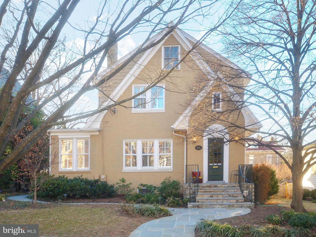 Single Family Home for Sale at 3514 Runnymede Pl Nw 3514 Runnymede Pl Nw Washington, District Of Columbia 20015 United States