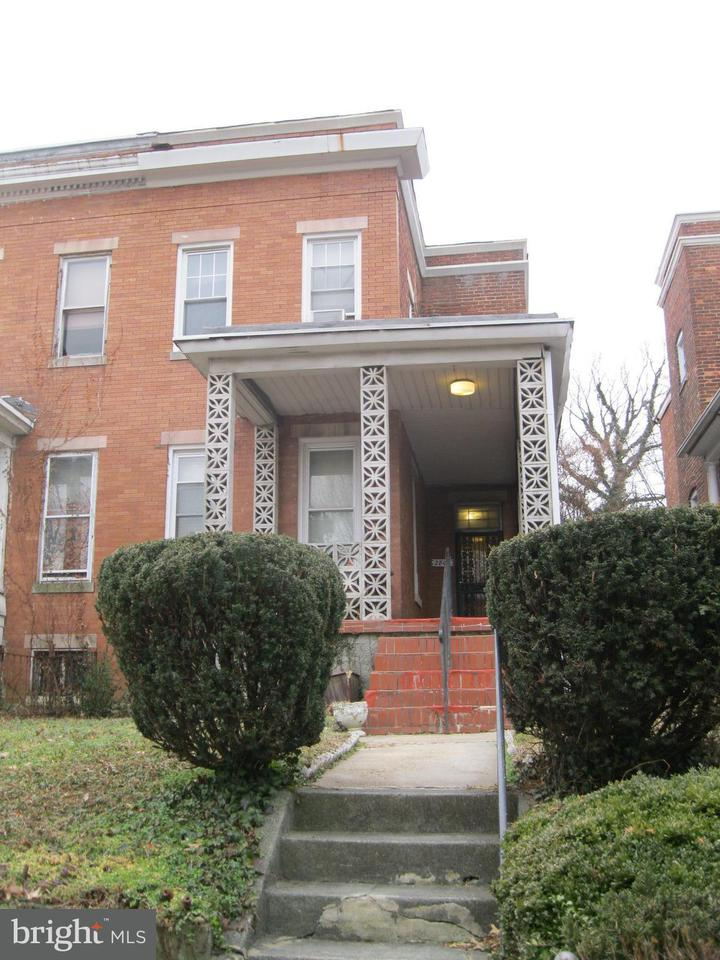 Single Family for Sale at 2803 Mosher St W Baltimore, Maryland 21216 United States