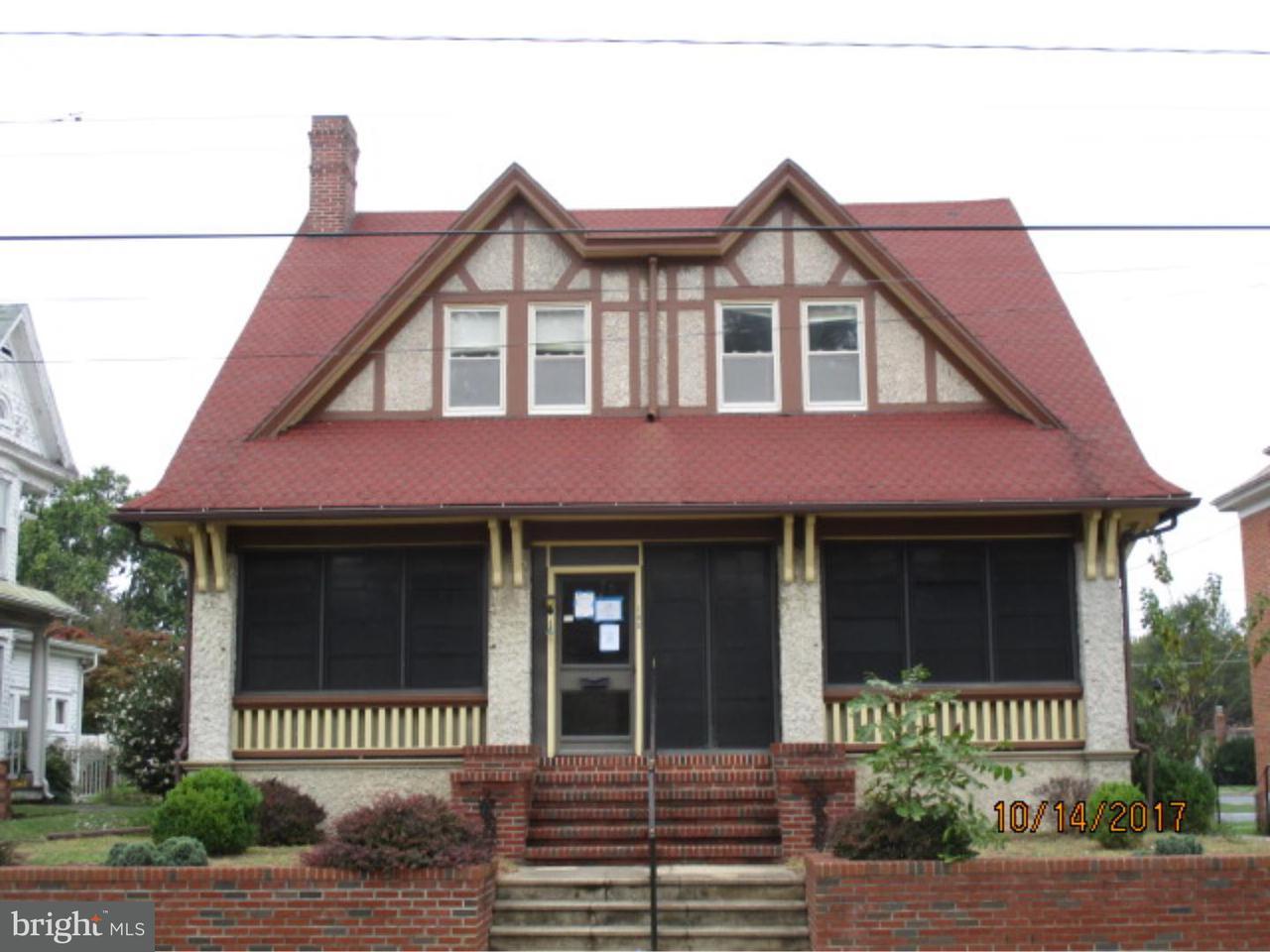独户住宅 为 销售 在 105 COMMERCE Street Harrington, 特拉华州 19952 美国