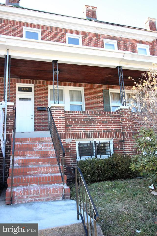 Single Family for Sale at 4020 Wilsby Ave Baltimore, Maryland 21218 United States