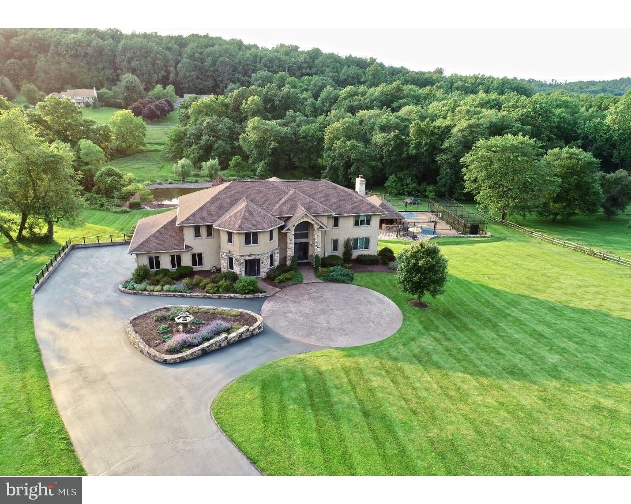 Частный односемейный дом для того Продажа на 2439 MALEHORN Road Chester Springs, Пенсильвания 19425 Соединенные Штаты
