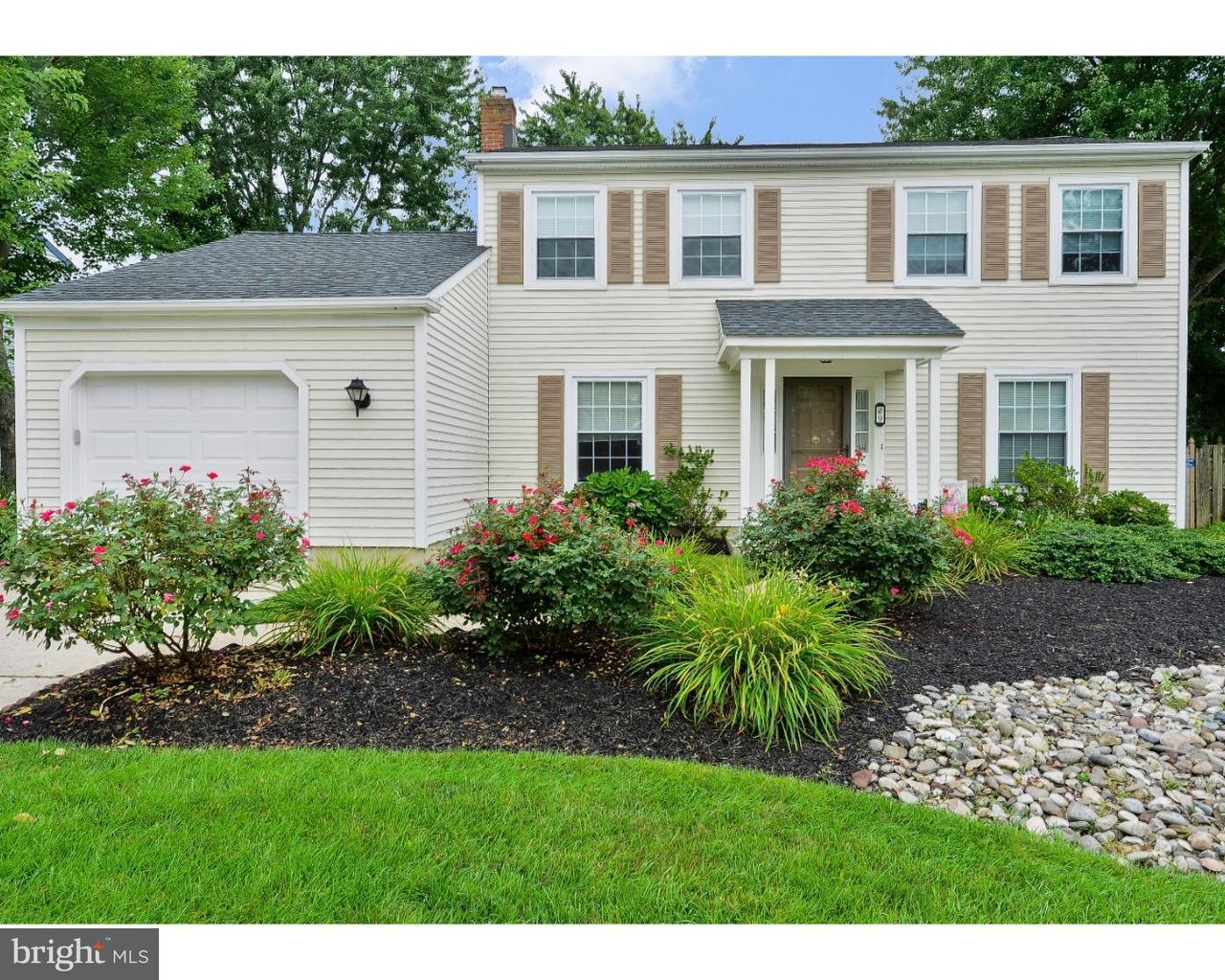 Maison unifamiliale pour l Vente à 9 UTICA Road Marlton, New Jersey 08053 États-Unis