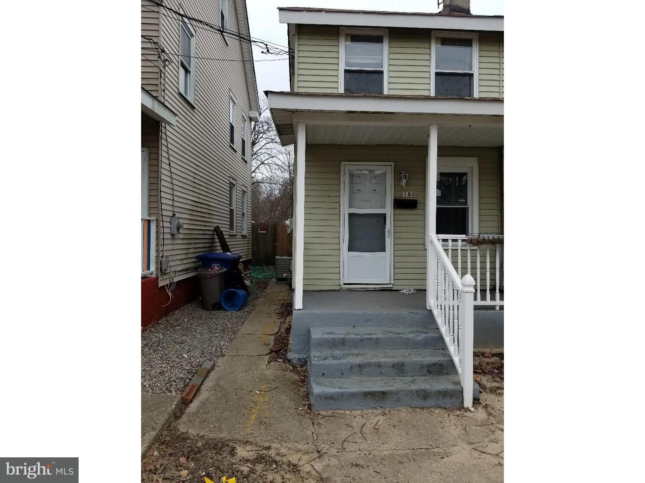 Townhouse for Rent at 180 WASHINGTON Street Mount Holly, New Jersey 08060 United States